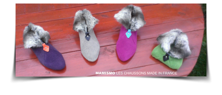 MAMISMO LES CHAUSSONS MADE IN FRANCE